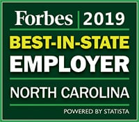 Best place to work North Carolina 2019