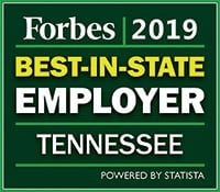 Best place to work Tennessee 2019